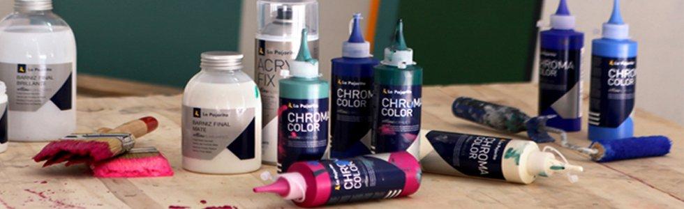 La Pajarita Chroma Color acrylic paints