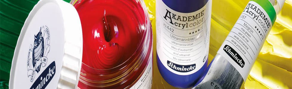 Schmincke acrylic paints