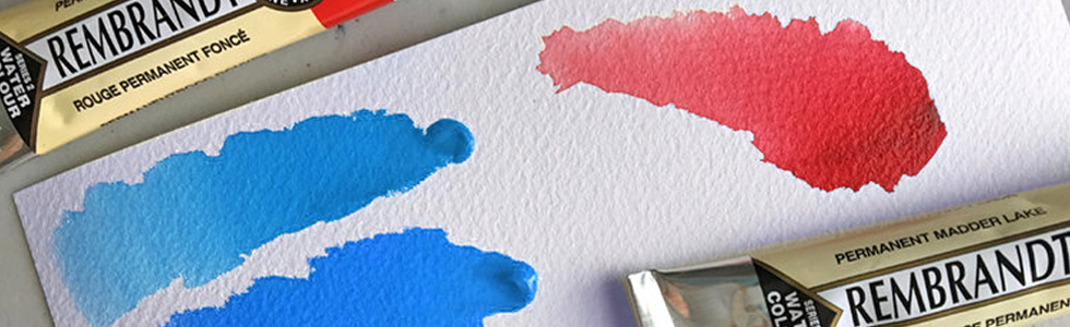 Rembrandt Watercolors in tube