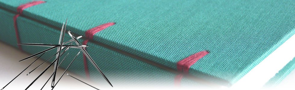 Needles and thread to bind