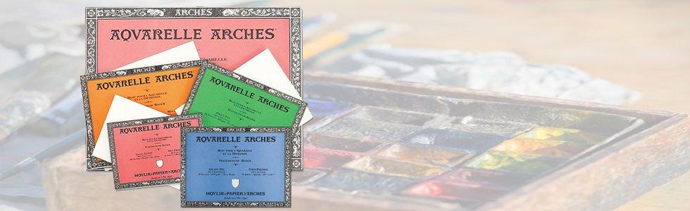 Watercolour, Acrylic and Gouache Blocks