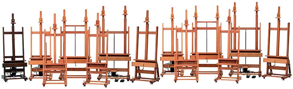 Easels for painting