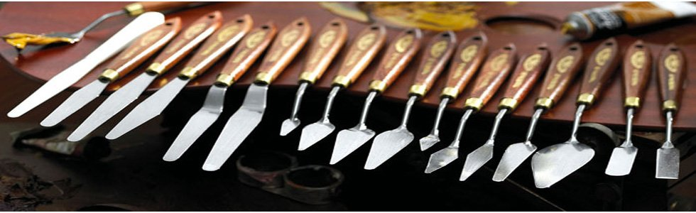 Tradicional spatulas for oil