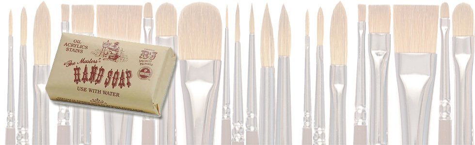 Soaps and cleaners brushes