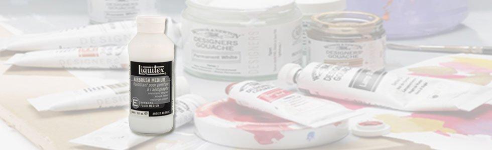 Mediums and additives gouache