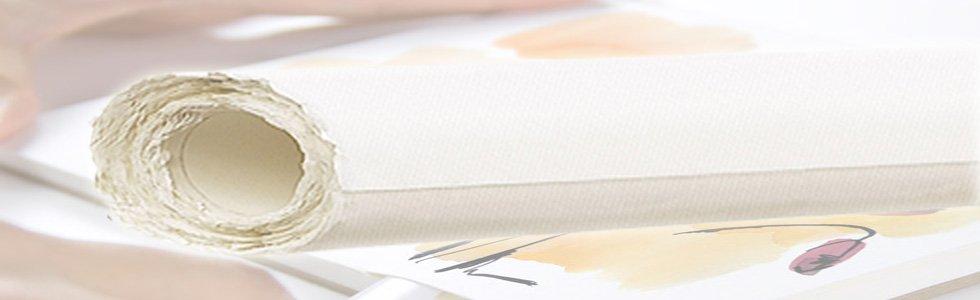 Rolls paper for watercolour techniques