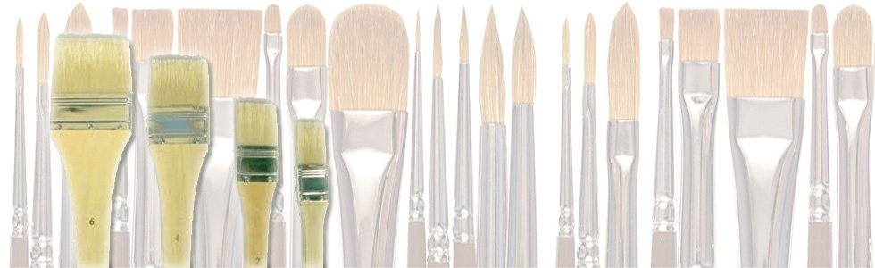 Brushes palette for oil