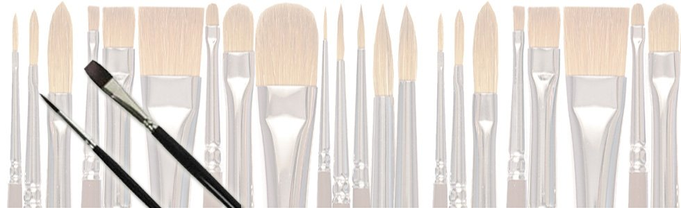 Teijin Brushes for acrylic