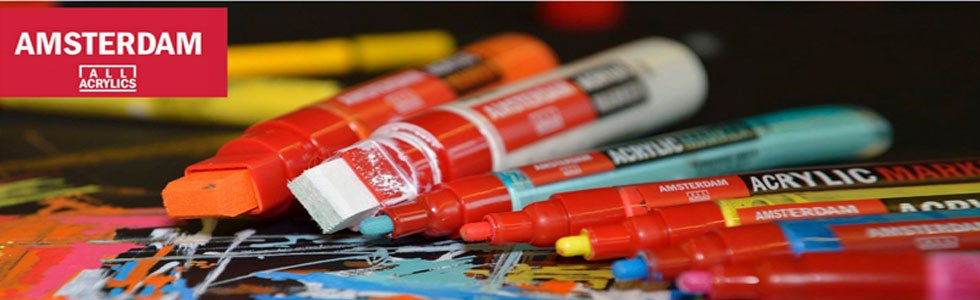 Amsterdam acrylic paint markers