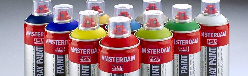 Amsterdam acrylic paint Spray