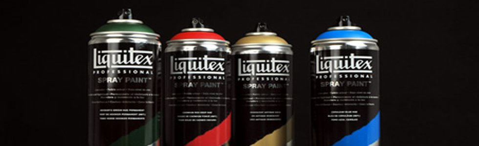 Liquitex Acrilic Spray Colour