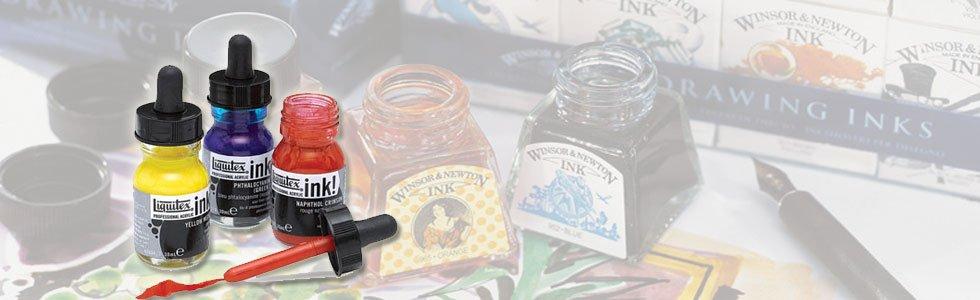 Liquitex acrylic inks