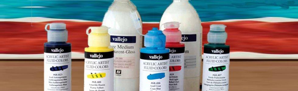 Fluid Vallejo acrylic paints