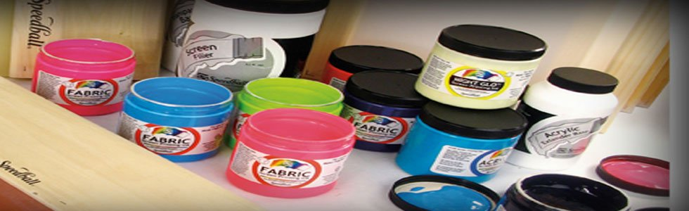 Speedball Textile screen printing inks