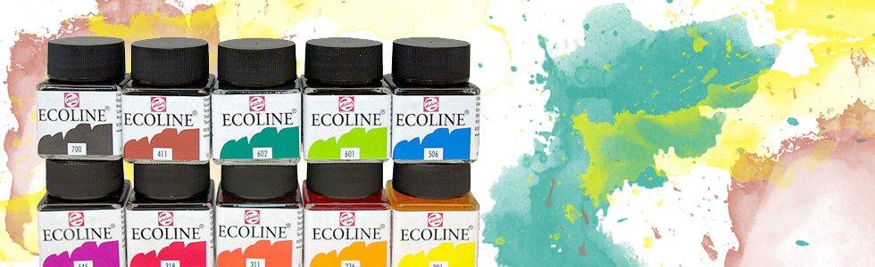 Liquid Watercolour Ecoline Talens