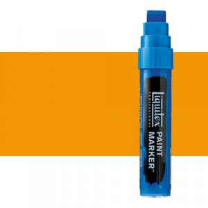Liquitex Paint Marker colour Dark Cadmium Yellow Hue (15 mm)