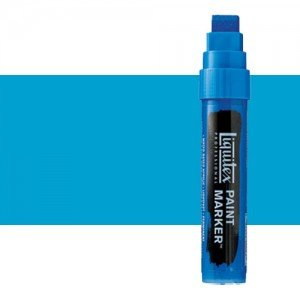 Liquitex Paint Marker colour bright blue (15 mm)