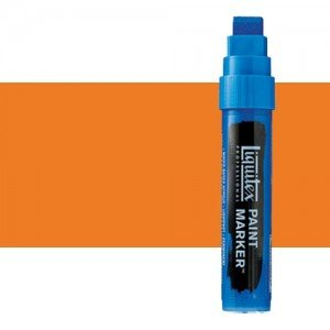 Liquitex Paint Marker colour cadmium orange, hue (15 mm)