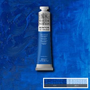 Oil Winton W&N, Cobalt Blue Hue, 200 ml.