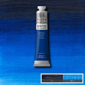 Oil Winton W&N,  Phthalo Blue , 200 ml.