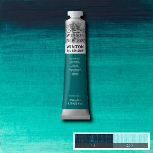 Oil Winton W&N,  Viridian Hue, 200 ml.