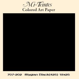 Mi-teintes Canson Negro, 160 gr., 50x65 cm.