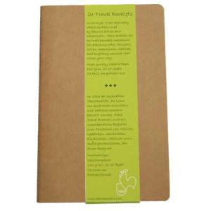 Block Travel Booklet Hahnemuehle R, 140 gr, 2x20 h, 9x14 cm.