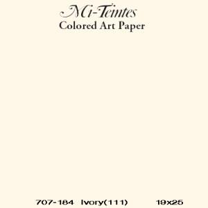 Mi-teintes Canson Marfil, 160 gr., 21x30 cm..
