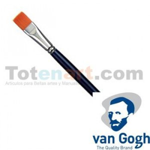 Pincel Sintetico Plano n. 01 Van Gogh S. 294