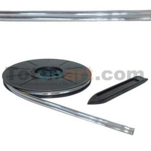 Plomo Adhesivo Simple Natural 6mmx10m