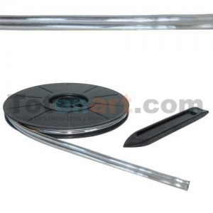 Plomo Adhesivo Simple Dorado 6mmx10m