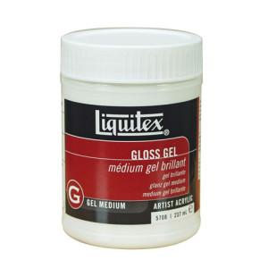 Gel Medium Brillante, Liquitex 237 ml.