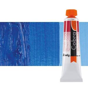 Water mixable oil colour Cobra Study colour cobalt ultramarine blue (40 ml)