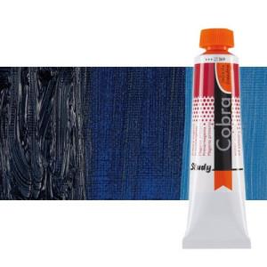 Water mixable oil colour Cobra Study colour Prussian blue (200 ml)