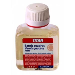 Barniz cuadros Mate Opal Titan, 100 ml.