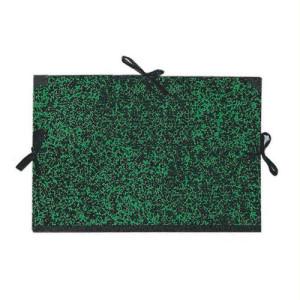 totenart-Carpeta dibujo 61x80 cm., Verde con cintas