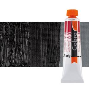 Water mixable oil colour Cobra Study colour ivory black (40 ml)