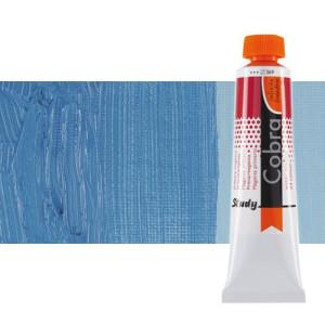 Water mixable oil colour Cobra Study colour royal blue (40 ml)
