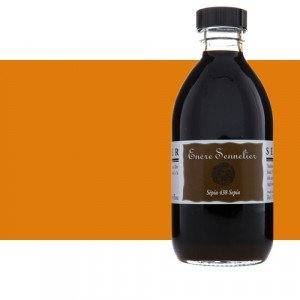 Drawing ink Orange 641, 250 ml. Sennelier