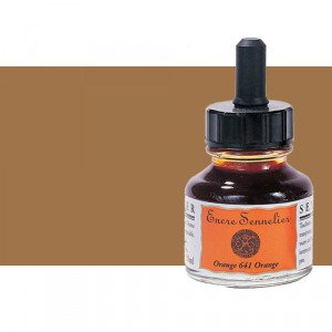 Drawing ink Walnut Stain 453, 30 ml., with dropper, Sennelier