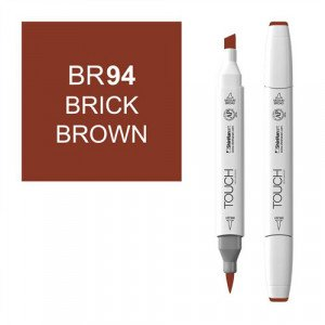 Rotulador alcohol TOUCH TWIN Brick Brown n. BR94 totenart.