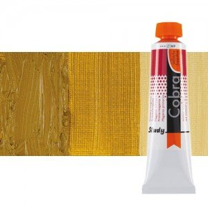Water mixable oil colour Cobra Study colour natural siena (40 ml)