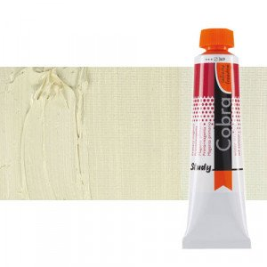 Water mixable oil colour Cobra Study colour titanium buff  (40 ml)