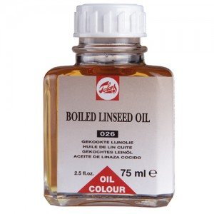 totenart-Aceite de linaza cocido Talens, 75 ml