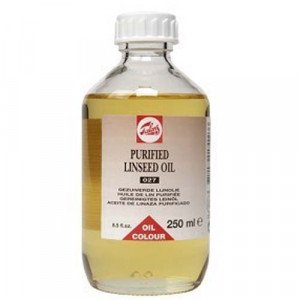 totenart-Aceite de linaza purificado Talens, 250 ml
