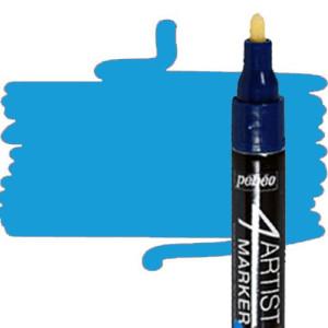 totenart-Rotulador 4Artist Pebeo al Óleo 4 mm azul claro