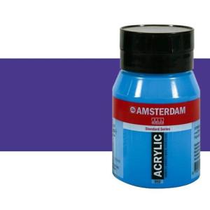 Acrílico Amsterdam n. 507 color azul ultramar violeta (500 ml)