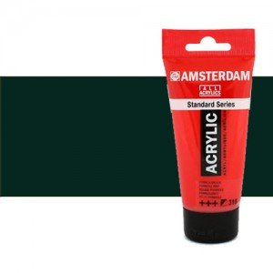 Acrílico Amsterdam n. 735 color negro óxido (250 ml)