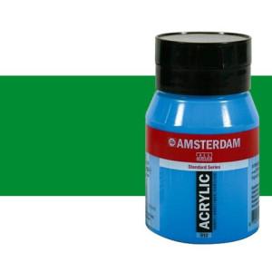 Acrílico Amsterdam n. 618 color verde permanente claro (500 ml)