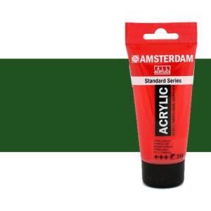 Acrílico Amsterdam n. 623 color verde vejiga (250 ml)